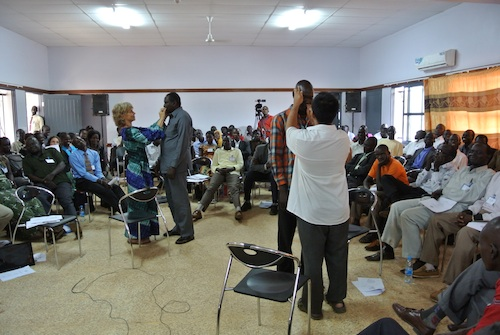 TTT Trainining in South Sudan