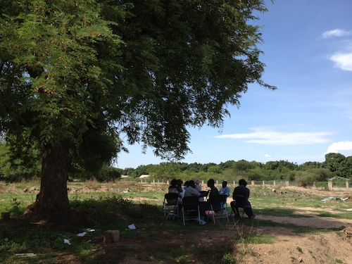 Under Tree in South Sudan